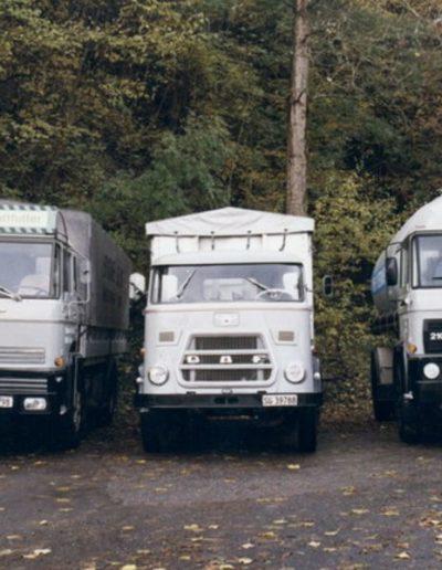 Fahrzeugpark 1982