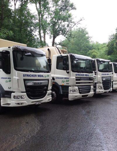 Unsere Lastwagen