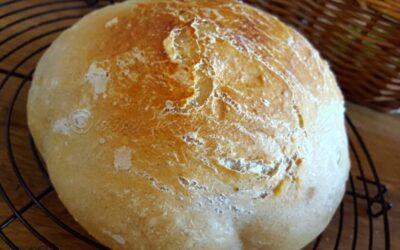 Weissbrot gebacken mit selbstgemachtem Hefewasser